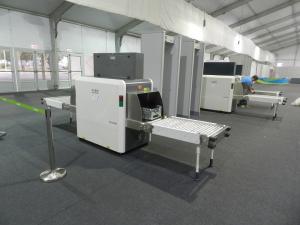 Příprava rentgenového zařízení v místě konání OH v Riu (PRNewsFoto/NUCTECH CO LTD)