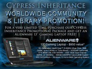 Cypress Inheritance Worldwide Community & Library Promotion (PRNewsFoto/Cypress Inheritance, LLC)