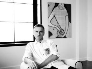 Raf Simons jmenován kreativním manažerem značky Calvin Klein