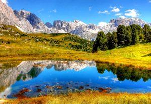 itálie hory