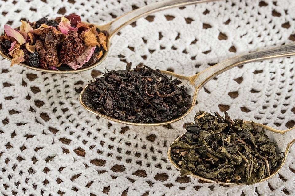 druhy čaje