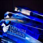 Dagmar Grossmann získala cenu Sapphire Pegasus Award