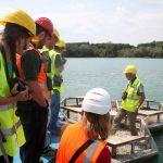 Na Tovačovských jezerech se konal terénní seminář