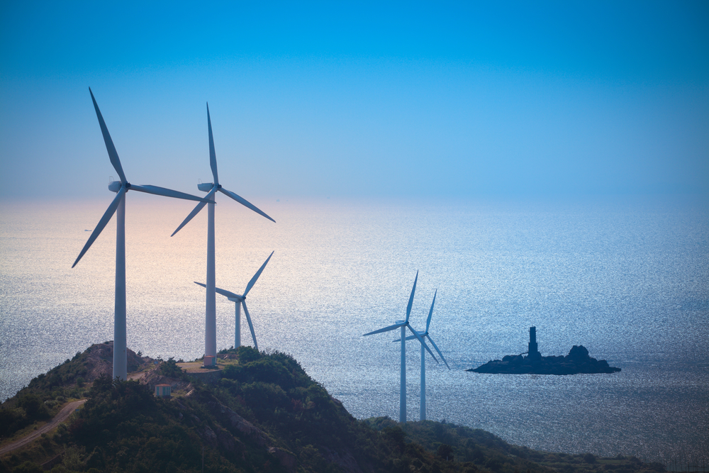 větrné farmy
