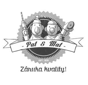 Dětské tričko Pat a Mat - Záruka kvality
