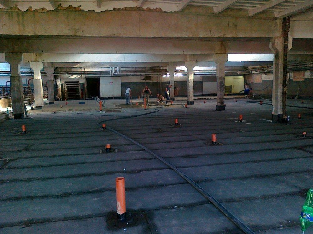 betonování podlahy Urbánek
