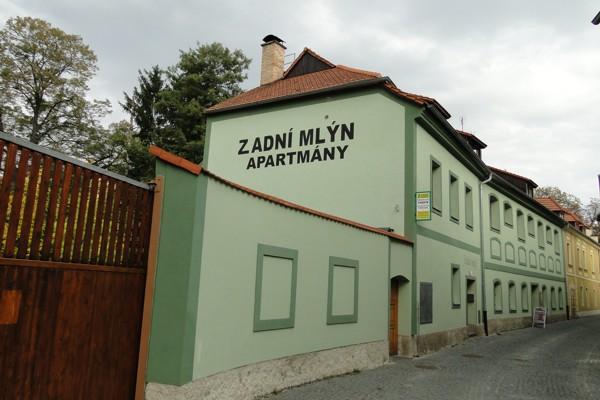 ubytování v Českých Budějovicích -Zadní Mlýn