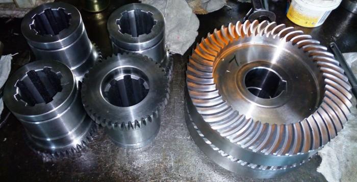 Strojní součásti, výroba strojních součástí