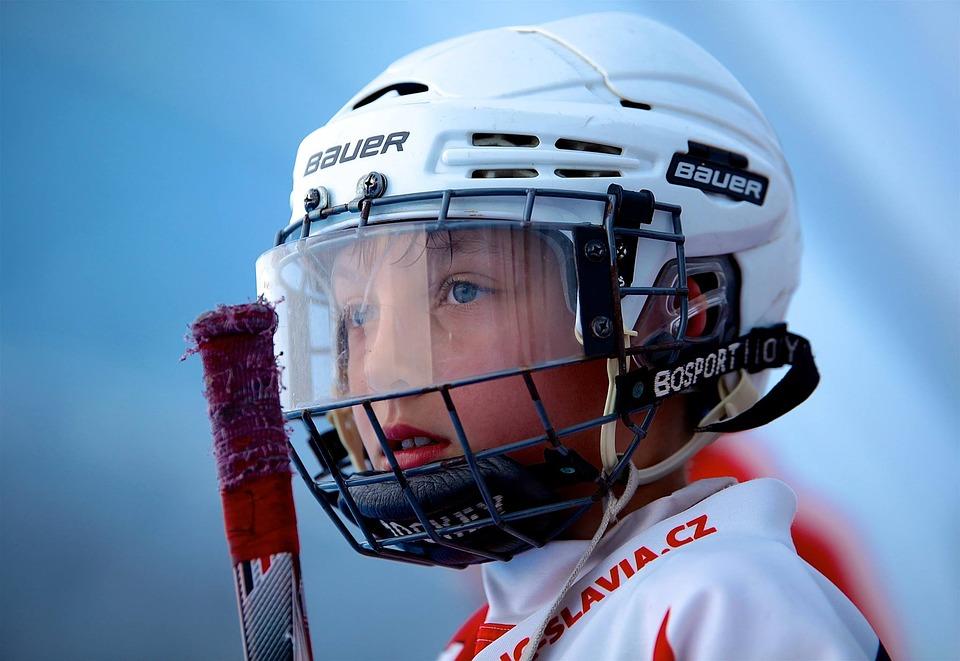brusle, hokejka, Bauer