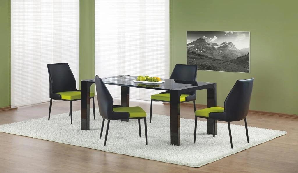 Jídelní stůl KEVIN, černý